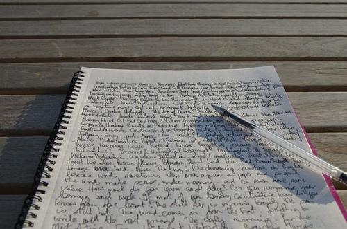 au magma présent de l'écriture